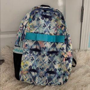 Ivivva By Lululemon Back At It Backpack Sky Floral